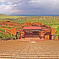 Red Rocks Park Amphitheater - Centered View by Rich Walter