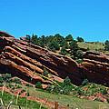 Red Rocks by Robert Maestas