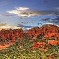 Red Rocks Sunset by Alexey Stiop