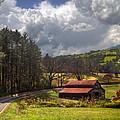 Red Roof Barn by Debra and Dave Vanderlaan