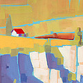 Red Roof Landscape by Larry Hunter