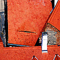 Red Roofs Of Sibiu by Marius Mitea