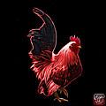 Red Rooster Pop Art - 4602 - Bb - James Ahn by James Ahn