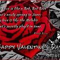 Red Rose Valentine by Joan-Violet Stretch