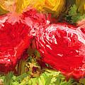 Red Roses by Henry Inhofer