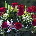Red Roses Say I Love You by Kathy Clark