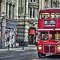 Red Routemaster by Heather Applegate