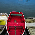 Red Rowboat by David Stone