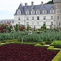 Red Salad And Cabbage Garden - Chateau Villandry by Christiane Schulze Art And Photography