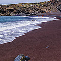 Red Sand Beach by Karol Kozlowski