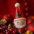 Red Santa by Anne Gilbert