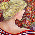 Red Scented Roses by Natalie Holland