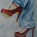 Red Shoes by Betty Mulligan