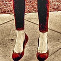 Red Shoes by Kristina Deane