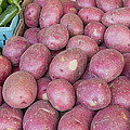 Red Skin Potatoes Stall Display by Jit Lim