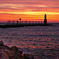 Red Sky At Morning by Bill Pevlor