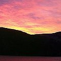Red Sky At Morning Sailors Take Warning by Barbara Griffin