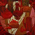 Red Still Life by Nadia Egorova