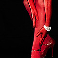 Red Stockings02 by Svetlana Sewell