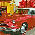 Red Studebaker by Lynn Sprowl