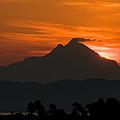 Red Sunrise by Roy Pedersen