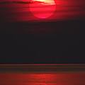Red Sunset by David T Wilkinson