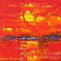 Red Sunset by Karen Bower