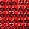 Red Textured Wall by Art Block Collections