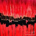 Red Thunder Clash II by Saundra Myles