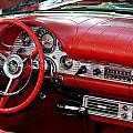 Red Thunderbird Dash by Dean Ferreira