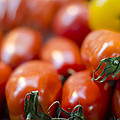 Red Tomatoes At The Market by Heather Applegate