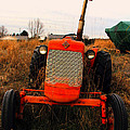 Red Tractor 2 by Jim Vance