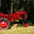 Red Tractor by Carol Ailles