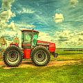 Red Tractor Farm by  Caleb McGinn