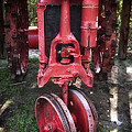 Red Tractor by John Rizzuto