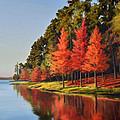 Red Trees by Jeff Ott