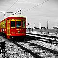 Red Trolley by Richelle Munzon
