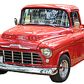 Red Truck by Les Palenik