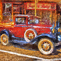 Red Truck Photo Art by Thomas Woolworth