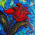 Red Tulip by Rae Chichilnitsky