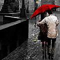 Red Umbrella 2 by Yuriy Shevchuk