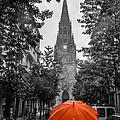Red Under Rain by Justin Murazzo