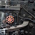 Red Valve S P R R 1673 by Joe Kozlowski