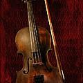 Red Violin by Davandra Cribbie