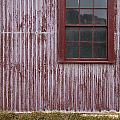 Red Wall by Tim Hester