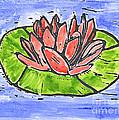 Red Waterlily by Lynn-Marie Gildersleeve