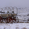 Red-wheeled Wagon   #0662 by J L Woody Wooden