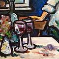 Red Wine by Cheryl Emerson Adams