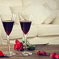 Red Wine by Amanda Elwell