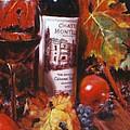 Red Wine With Red Pomergranates by Takayuki Harada